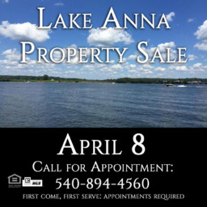 Lake Anna Property Sale